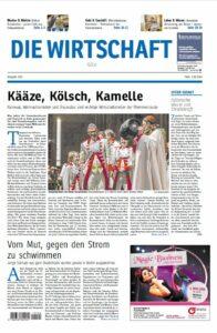 Die Wirtschaft Köln - Ausgabe 01/2016