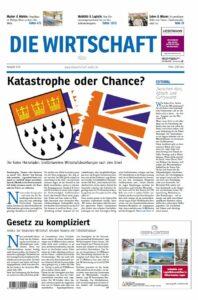 Die Wirtschaft Köln - Ausgabe 03/2016