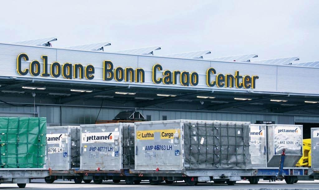 Der Flughafen Köln / Bonn ist für Frachtverkehre bestens gerüstet und beherbergt die internationalen Drehkreuze von FedEx und UPS. - copyright: Köln Bonn Airport