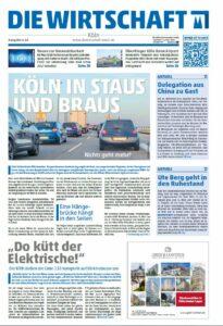 Die Wirtschaft Köln - Ausgabe 06 / 2016
