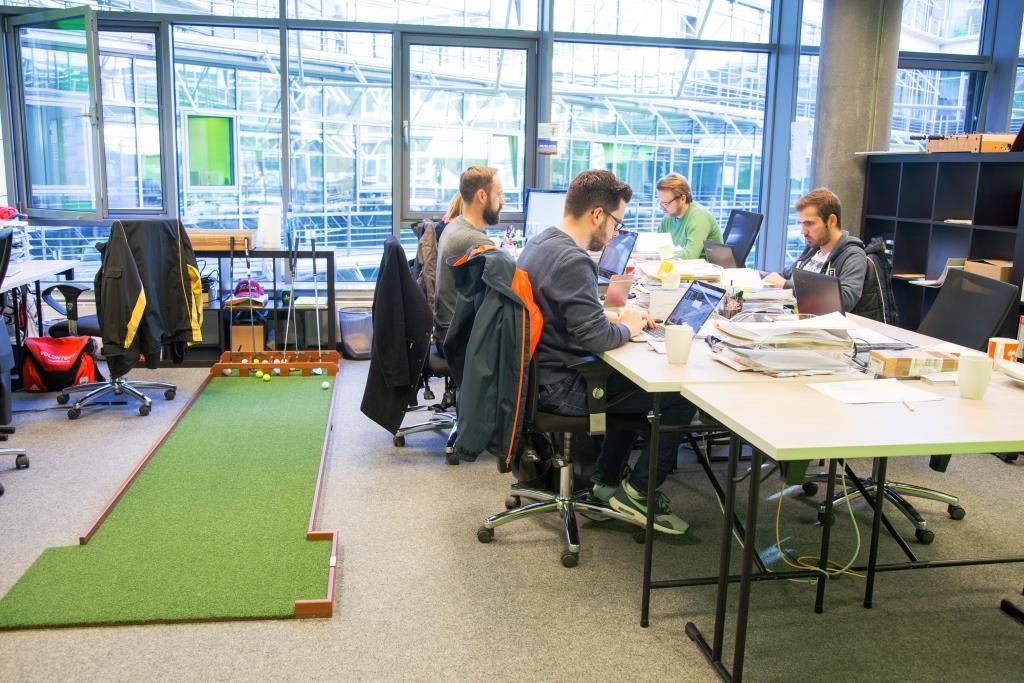 STARTPLATZ im Kölner Mediapark:Noch mehr Platz für Start-ups und Innovation - copyright: STARTPLATZ