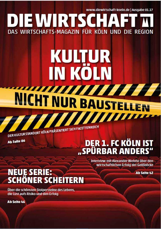 Die Wirtschaft Köln - Ausgabe 01 / 2017