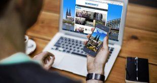 Die Wirtschaft Köln gibt es ab sofort auch als kostenlose App für das Smartphone und Tablet! - copyright: Die Wirtschaft Köln