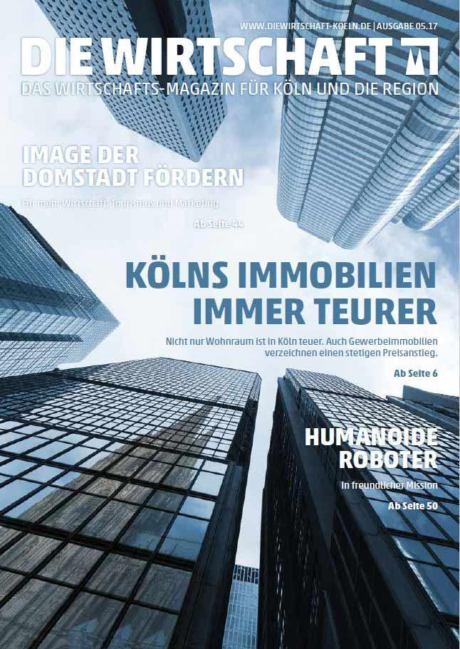 Die Wirtschaft Köln - Ausgabe 05 / 2017