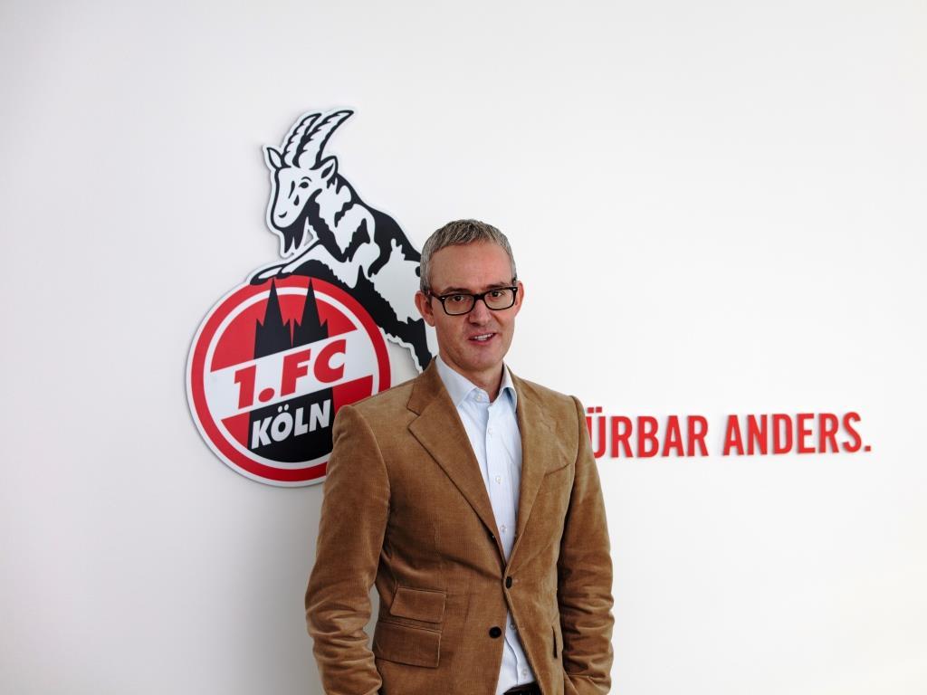 Sportlich und finanziell läuft es beim 1. FC Köln: Interview mit Geschäftsführer Alexander Wehrle - copyright: Die Wirtschaft Köln / Alex Weis