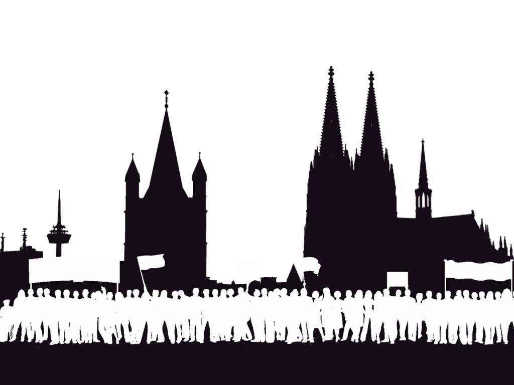 Meinungsfreiheit vs. Wirtschaftsfaktor: Wie viele (Massen-) Demonstrationen verträgt Köln? - copyright: Die Wirtschaft Köln