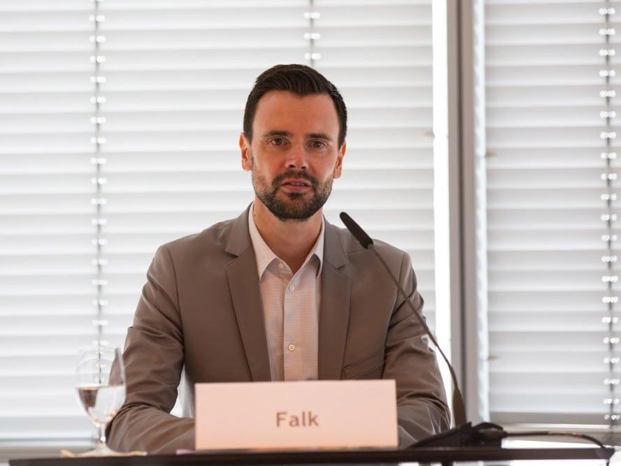 """Felix Falk, BIU-Geschäftsführer: """"Der gamescom congress hat in diesem Jahr mehr denn je die besondere Relevanz von Computer- und Videospielen für Bildung, Gesellschaft und Wirtschaft unterstrichen."""" copyright: Alex Weis / Die Wirtschaft Köln"""