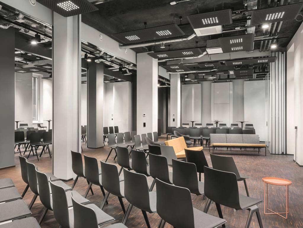 Business-Events in professionellen Räumlichkeiten - copyright: Design Offices
