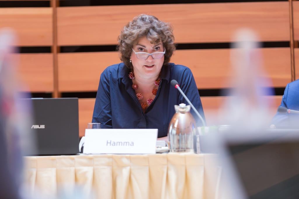 Katharina C. Hamma, Geschäftsführerin der Koelnmesse GmbH - copyright: Koelnmesse GmbH / Johannes Zappe