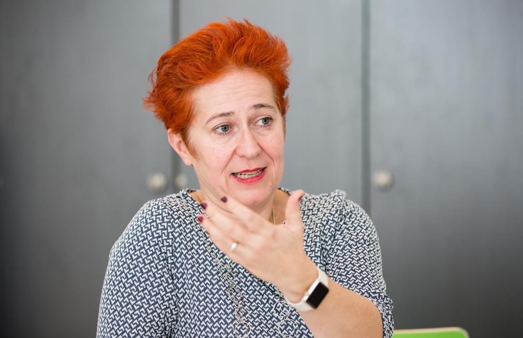 Andera Gadeib ist Online-Enthusiastin und Vollblut-Entrepreneurin. copyright: DIE WIRTSCHAFT KÖLN / Alex Weis