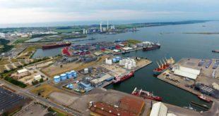 Kalundborg Hafen von oben copyright: Kalundborg
