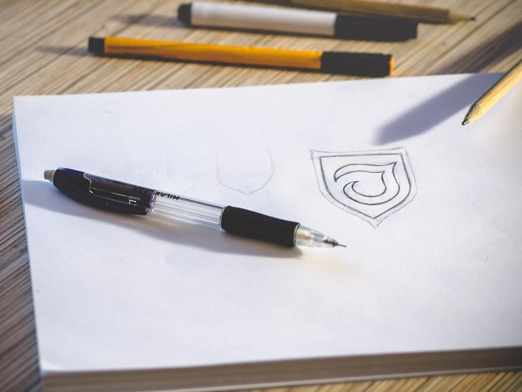 Vom Scribble über das Layout hin zur Reinzeichnung copyright: pixabay.com