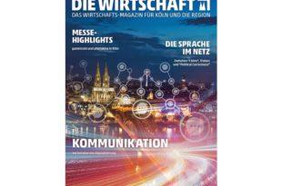 DIE WIRTSCHAFT KÖLN - Ausgabe 04 / 2018