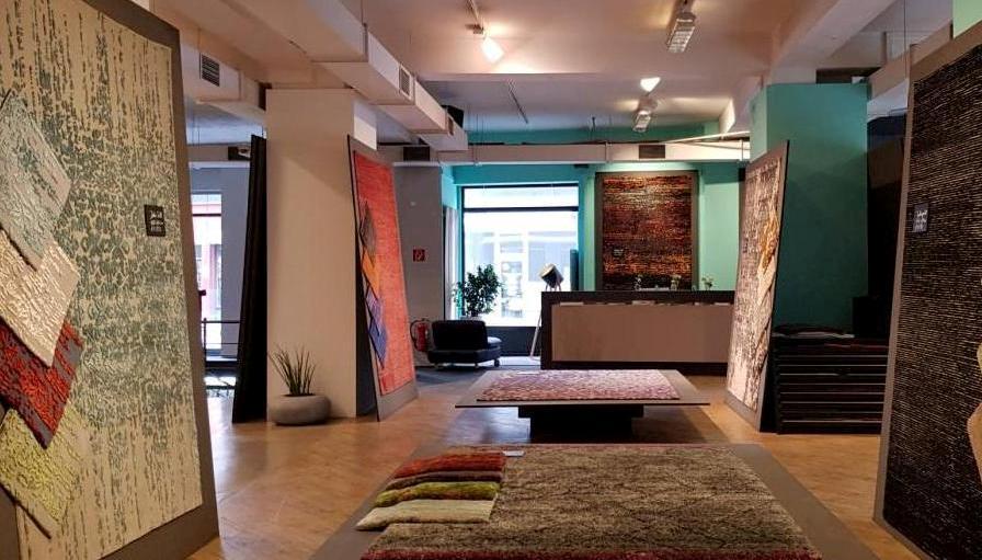 Ein Blick in die Verkaufsräume des Teppichfachgeschäftes ten Eikelder copyright: ten Eikelder