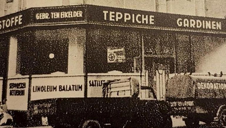 Die frühen Jahre des Unternehmens copyright: ten Eikelder