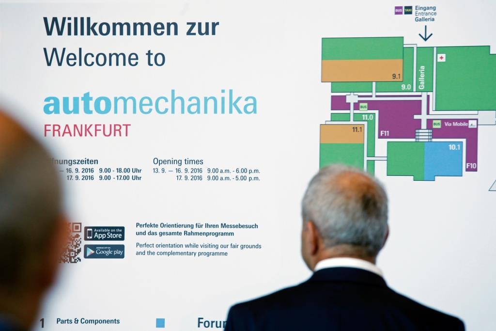 Messe für Ausrüstung, Teile, Zubehör und Co copyright: Messe Frankfurt GmbH / Jens Liebchen