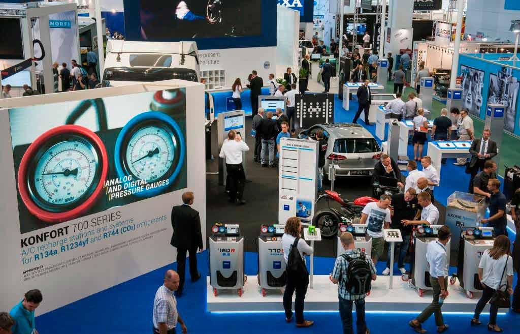 Autoindustrie mit einer großen Bandbreite an Zulieferern copyright: Messe Frankfurt GmbH / Petra Welzel