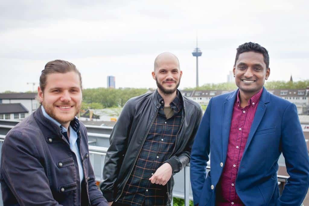 Die myDaylivery-Gründer wollen mit ihrem Start-up voll durchstarten copyright: myDaylivery