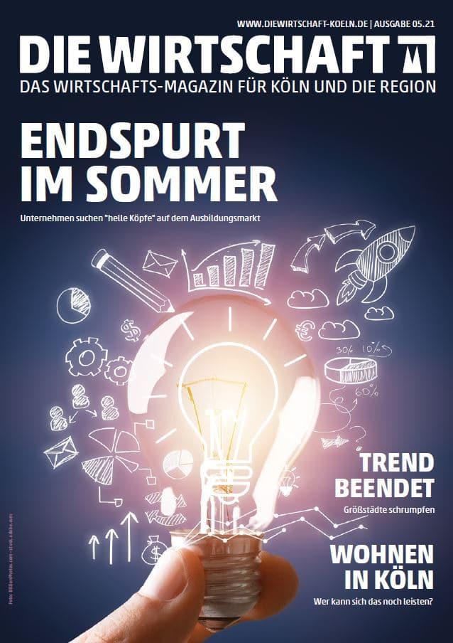 Die Wirtschaft Köln - Ausgabe 05 / 2021