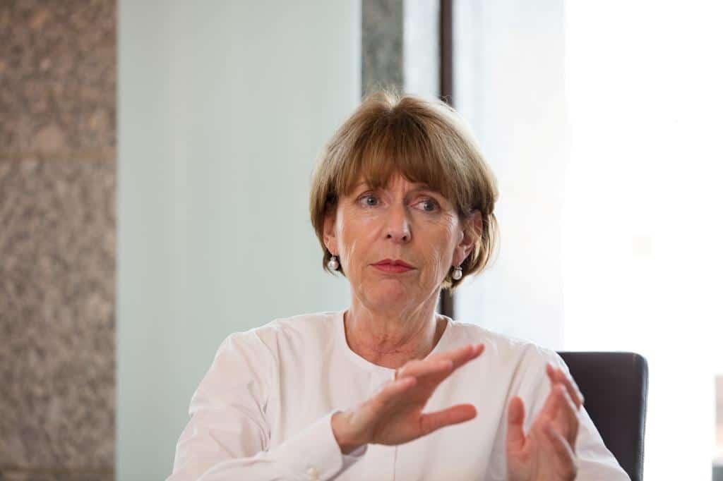 Oberbürgermeisterin Henriette Reker befürwortet die Gründung der neuen Oberbürgermeisterin Henriette Reker befürwortet die Gründung der neuen Wirtschaftsförderungs-GmbH Copyright: Alex Weis