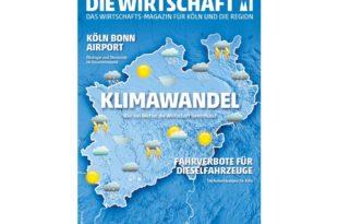 DIE WIRTSCHAFT KÖLN - Ausgabe 06 / 2018