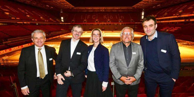 Neujahrsempfang der Wirtschaftsjunioren Köln im RheinEnergieSTADION