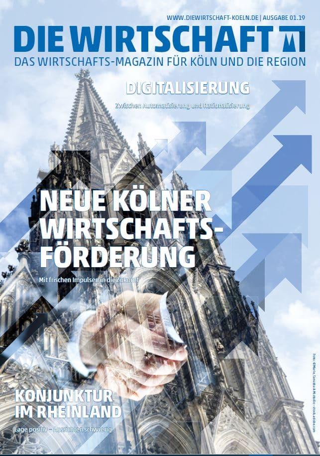 Die Wirtschaft Köln - Ausgabe 01 / 2019