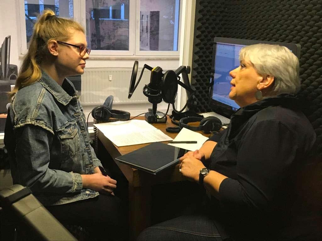 Podcast der HMKW Köln zum Gespräch mit Gabriele Klug und Sebastian Fiedler copyright: Frank Überall