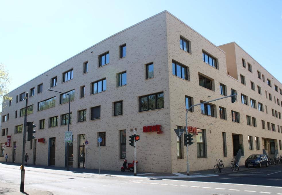 In Köln-Sülz sind in kurzer Zeit einige neue Gebäude entstanden. Credit: Christian Esser