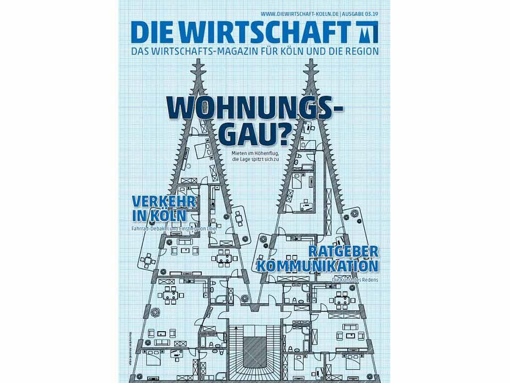Die neue DIE WIRTSCHAFT KÖLN Print-Ausgabe ist erschienen!