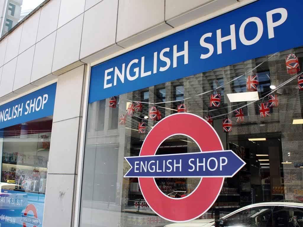 Auch der English Shop in Köln ist betroffen von einem möglichen Brexit. copyright: Jan-Philipp Chluba