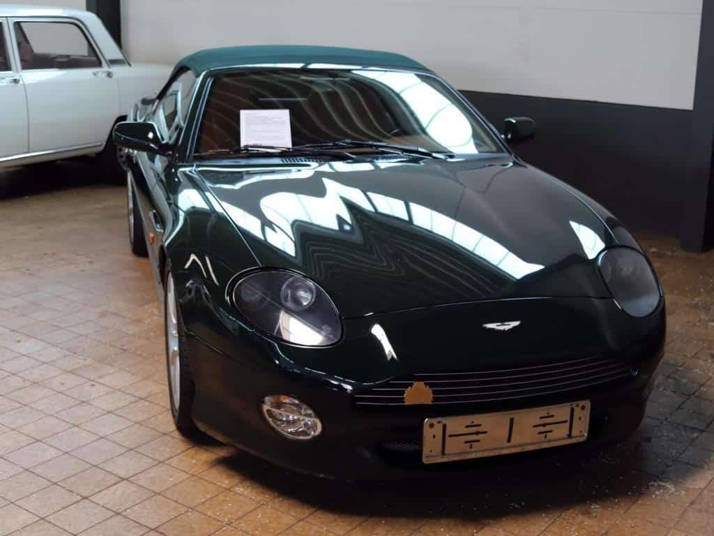 Bentley, Jaguar, Aston Martin – in Koch´s Garage sind alle englischen Luxusmarken vertreten. copyright: Melina C. Coniglio