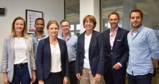 Oberbürgermeisterin Henriette Reker tauscht sich mit Kölner Startups aus