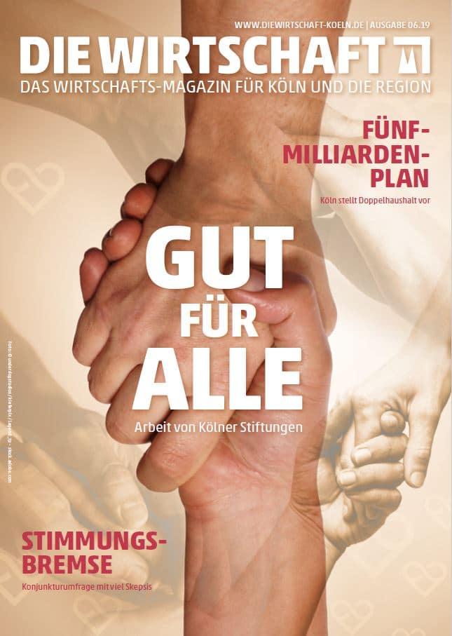 Die Wirtschaft Köln - Ausgabe 06 / 2019