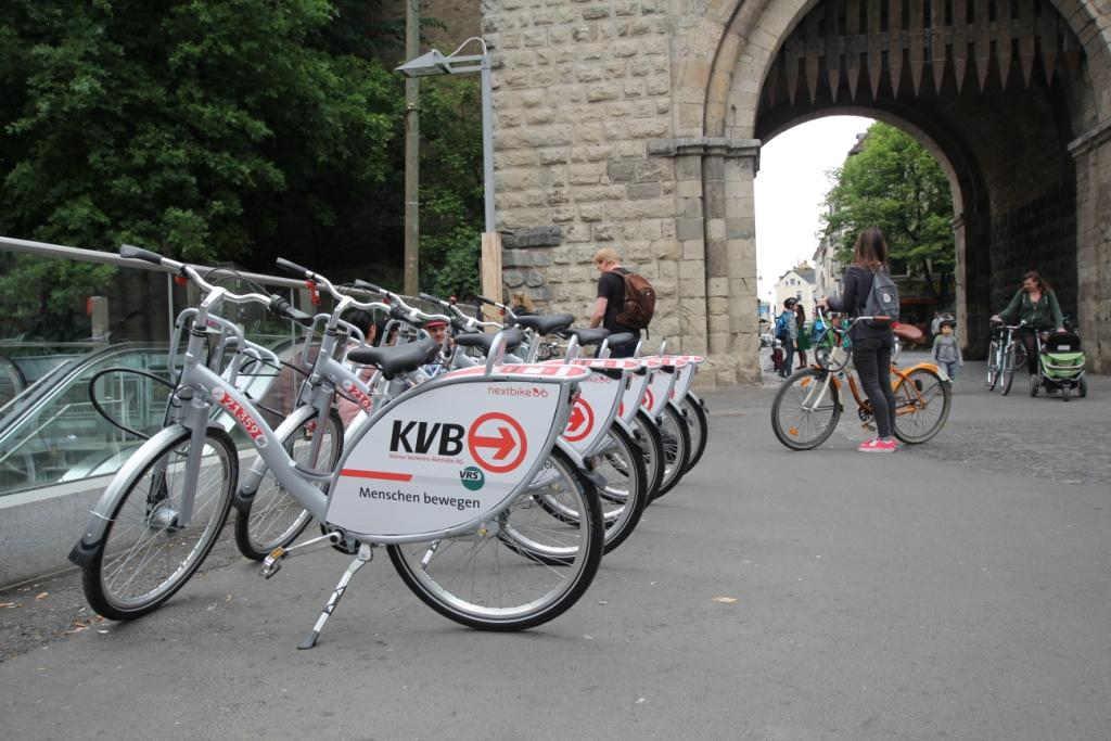 Im Jahr 2020 sollen den Kölner Bürgern 3.000 KVB-Leihräder zur Verfügung stehen. Credit: Stephan Anemueller / ölner Verkehrs-Betriebe AG
