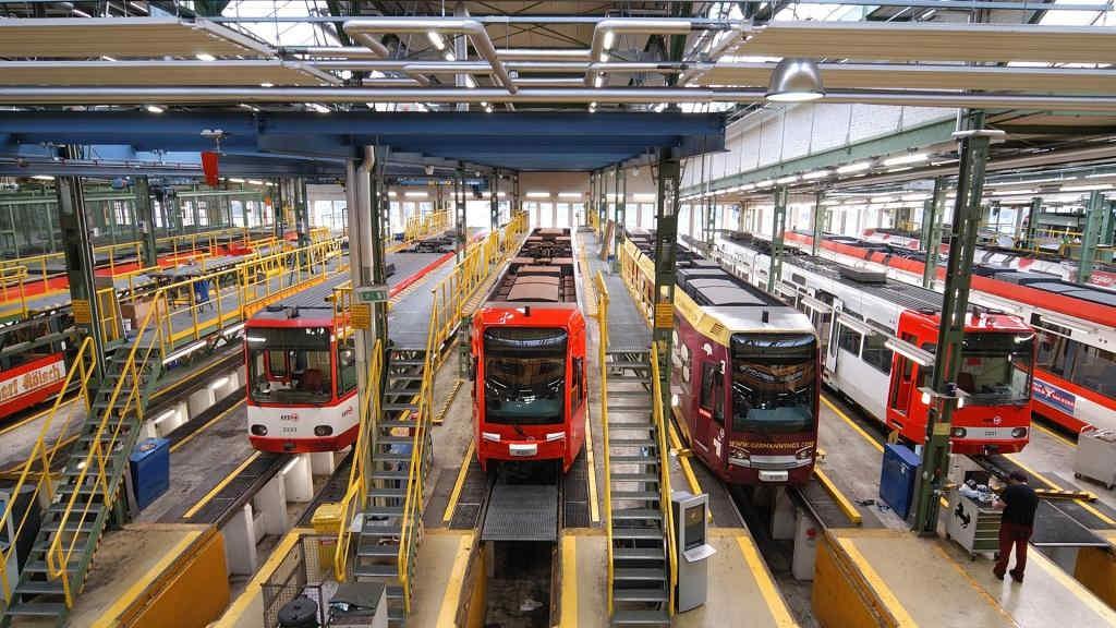 In den Liegenschaften der KVB sollen im Rahmen des Klimaschutzes unter anderem Fotovoltaik-Anlagen installiert werden. Credit: Archiv Kölner Verkehrs-Betriebe AG