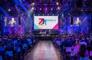 Die Gründerväter der Digitalisierung sind zu Gast auf der DIGITAL X 2019 in Köln. copyright: Digital X / Deutsche Telekom AG