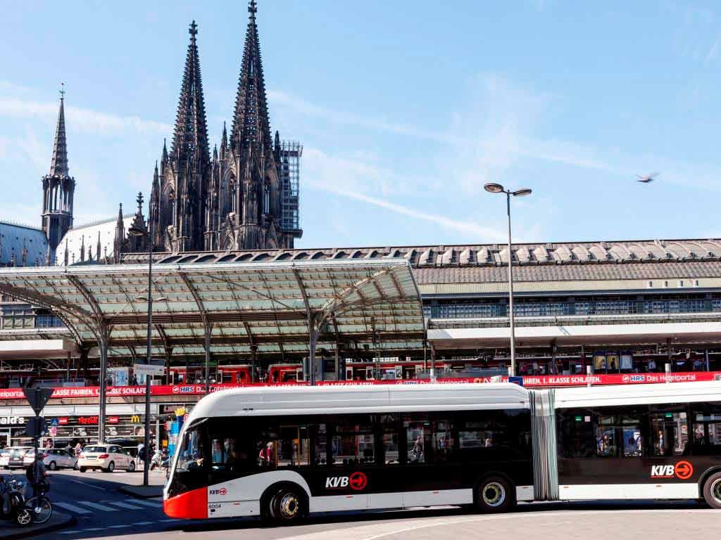KVB will Beitrag zum Klimaschutz in Köln leisten copyright: Christoph Seelbach / Kölner Verkehrs-Betriebe AG