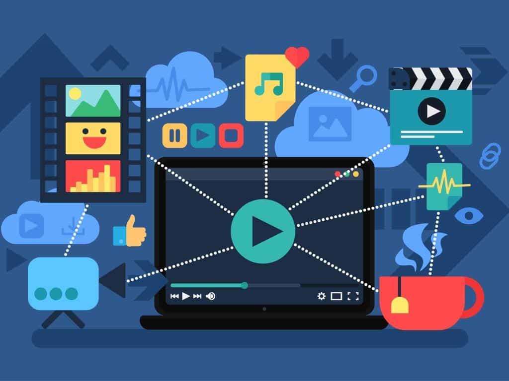 Videos liegen im Trend und der Konsum, z. B. bei YouTube ist in den letzten Jahren extrem gestiegen. copyright: Envato