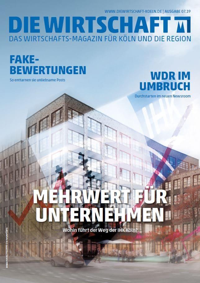 Die Wirtschaft Köln - Ausgabe 07 / 2019