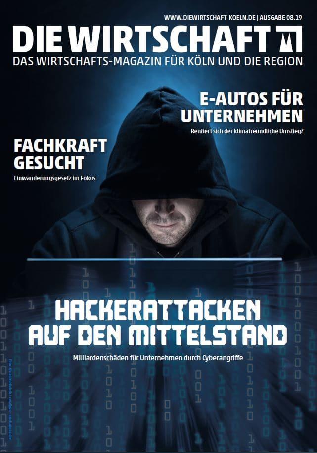Die Wirtschaft Köln - Ausgabe 08 / 2019