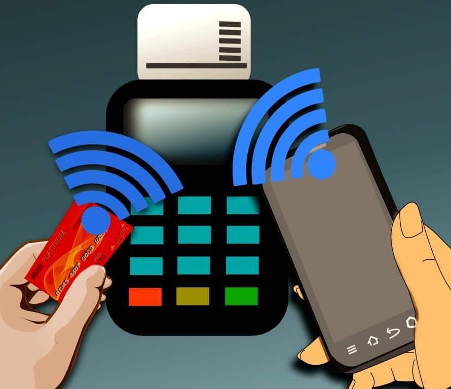 """Beim noch relativ jungen Trend """"Mobile Payment"""" erfolgt die Zahlung kontaktlos per Near Field Communication (NFC). Credit: Pixabay"""