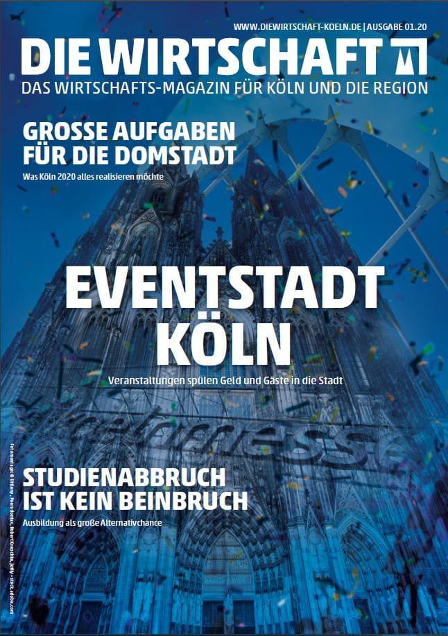 Die Wirtschaft Köln - Ausgabe 01 / 2020