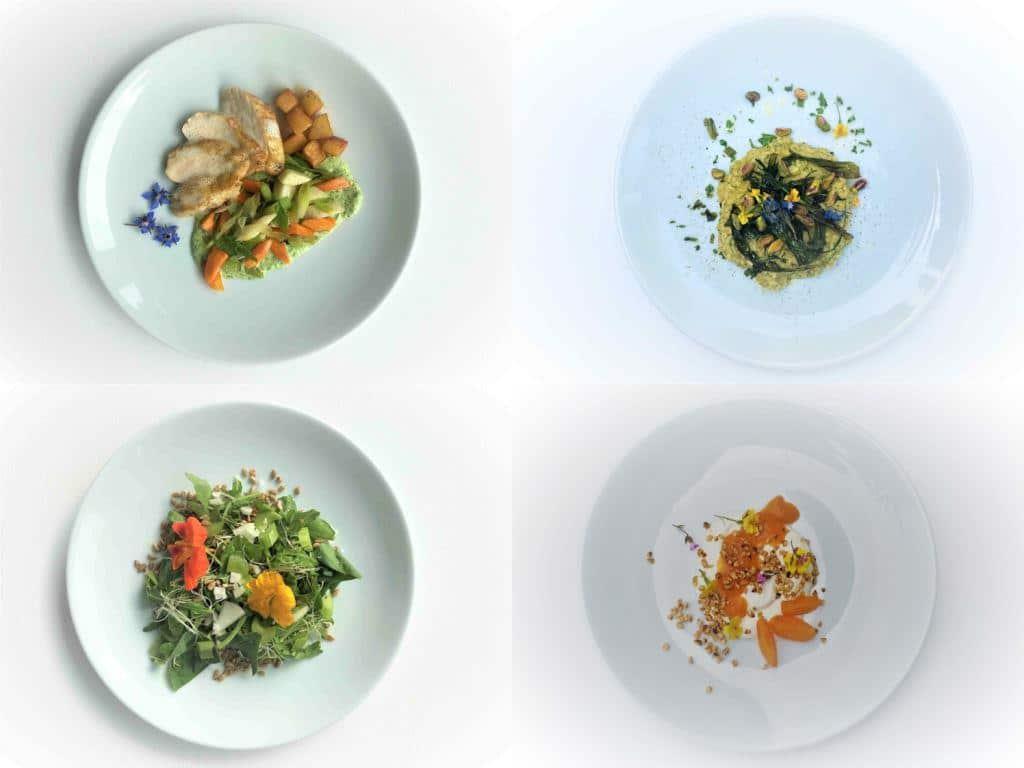 Teilnehmer der Online-Kochkurse können zwischen 3 Kursen wählen: vegetarisch, vegan oder flexitarisch. Copyright: esswahres