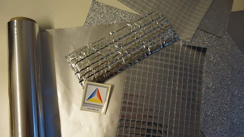 Neben der herkömmlichen Aluminiumfolie entwickelt das Unternehmen umweltfreundliche, kompostierbare Verpackungsfolie und entsprechende Beutel. Copyright: Alfipa