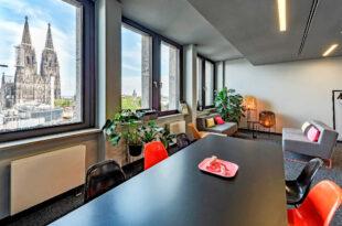 2018 ließ Design Offices mit dem Köln Dominium einen Platz für modernes Arbeiten in Laufweite zur Kölner Altstadt und zum Dom entstehen. copyright: Design Offices GmbH